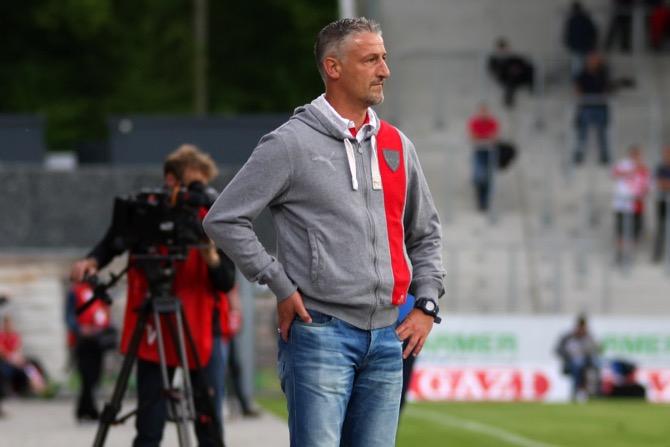 2. Spieltag; VfB Stuttgart II - SC Preußen Münster