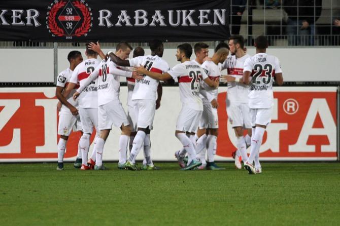 16. Spieltag; FC Energie Cottbus - VfB Stuttgart II