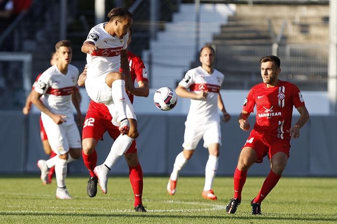 Kickers Würzburg feiern ersten Sieg - Spielbericht + Bilder