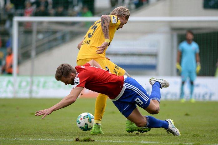 8. Spieltag 17/18: SpVgg Unterhaching - Sonnenhof Großaspach