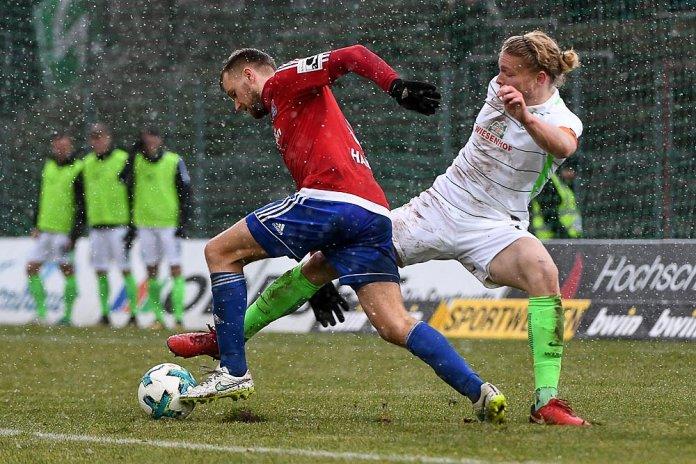 20. Spieltag 17/18: SpVgg Unterhaching - SV Werder Bremen II - Bild