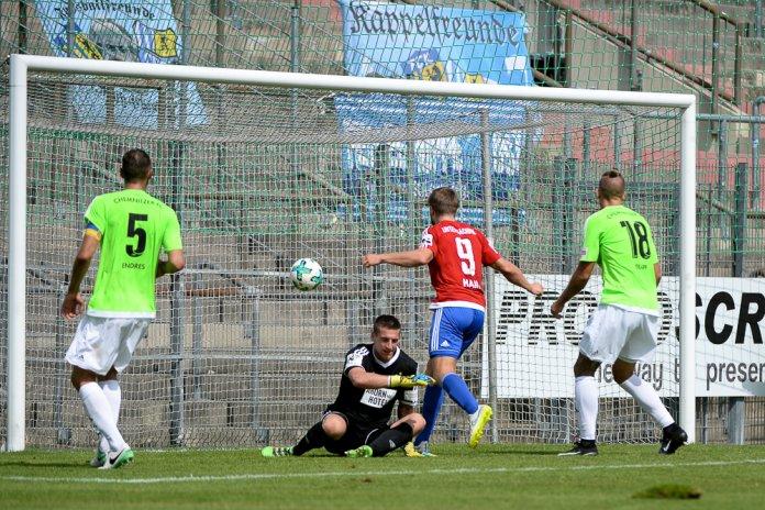 6. Spieltag 17/18: SpVgg Unterhaching - Chemnitzer FC