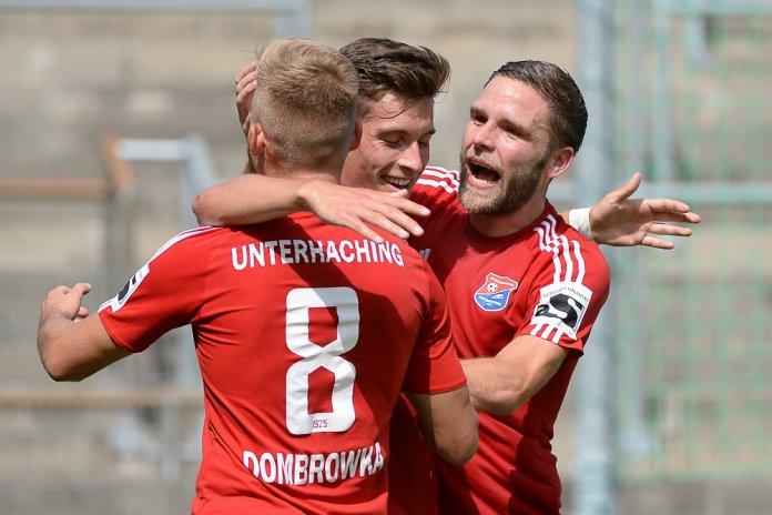 Unterhaching vergrößert Chemnitzer Sorgen – Spielbericht + Bilder
