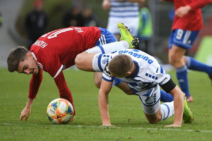 19. Spieltag 19/20: SpVgg Unterhaching - MSV Duisburg