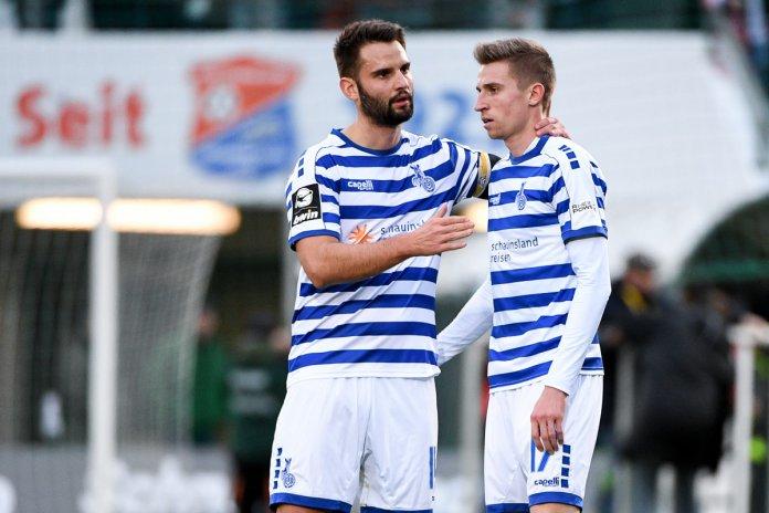 MSV Duisburg bleibt an der Spitze der 3. Liga während Coronavirus Fußball weiterhin unterbricht