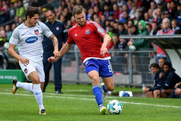 DFB-Pokal: SpVgg Unterhaching - 1. FC Heidenheim  - Bild