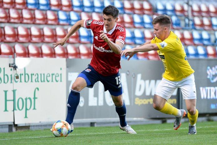 37. Spieltag 19/20: SpVgg Unterhaching - Carl Zeiss Jena - Bild
