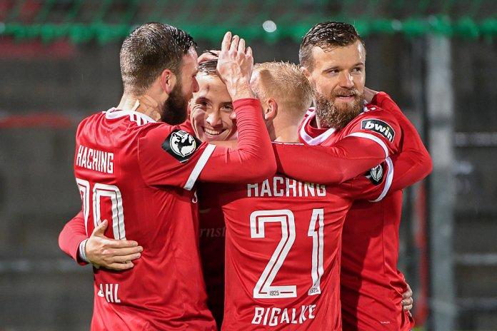 17. Spieltag 18/19: SpVgg Unterhaching - 1. FC Kaiserslautern