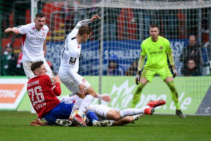 20. Spieltag 19/20: SpVgg Unterhaching - 1. FC Kaiserslautern