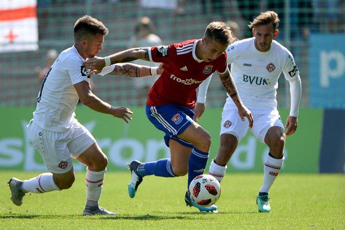 7. Spieltag 18/19: SpVgg Unterhaching - Würzburger Kickers - Bild