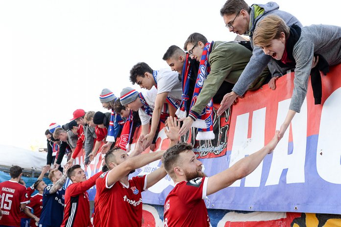 15. Spieltag 18/19: SpVgg Unterhaching - Fortuna Köln - Bild