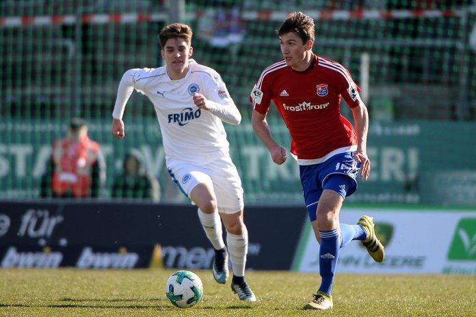 26. Spieltag 17/18: SpVgg Unterhaching - Sportfreunde Lotte