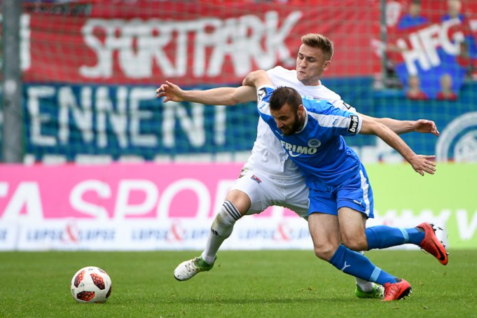 37. Spieltag 18/19: SpVgg Unterhaching - Sportfreunde Lotte