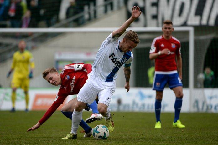 32. Spieltag 17/18: SpVgg Unterhaching - 1. FC Magdeburg