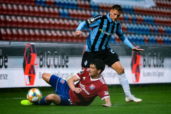 33. Spieltag 19/20: SpVgg Unterhaching - SV Waldhof Mannheim - Bild
