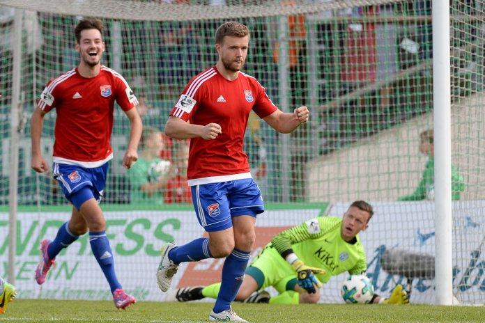 10. Spieltag 17/18: SpVgg Unterhaching - SV Meppen