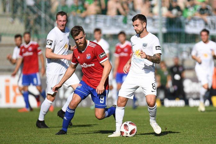 11. Spieltag 18/19: SpVgg Unterhaching - Preußen Münster - Bild