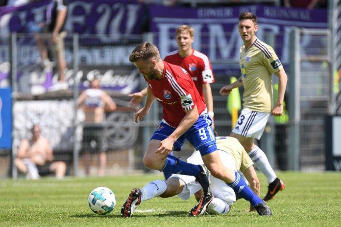 38. Spieltag 17/18: SpVgg Unterhaching - VfL Osnabrück - Bild
