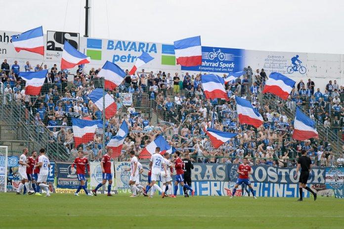 4. Spieltag 19/20: SpVgg Unterhaching - Hansa Rostock