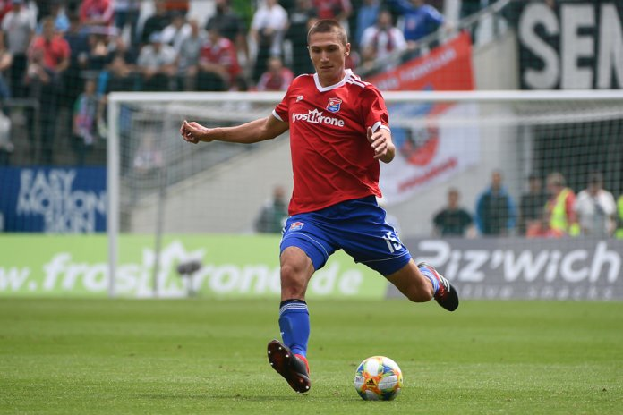 4. Spieltag 19/20: SpVgg Unterhaching - Hansa Rostock - Bild