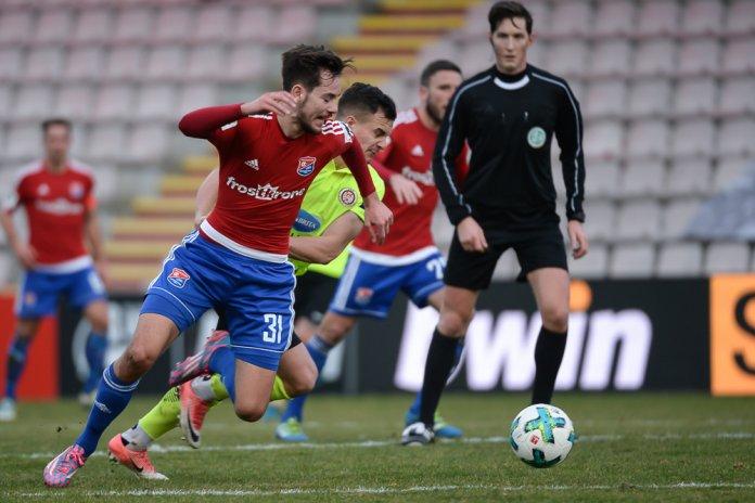 22. Spieltag 17/18: SpVgg Unterhaching - SV Wehen Wiesbaden