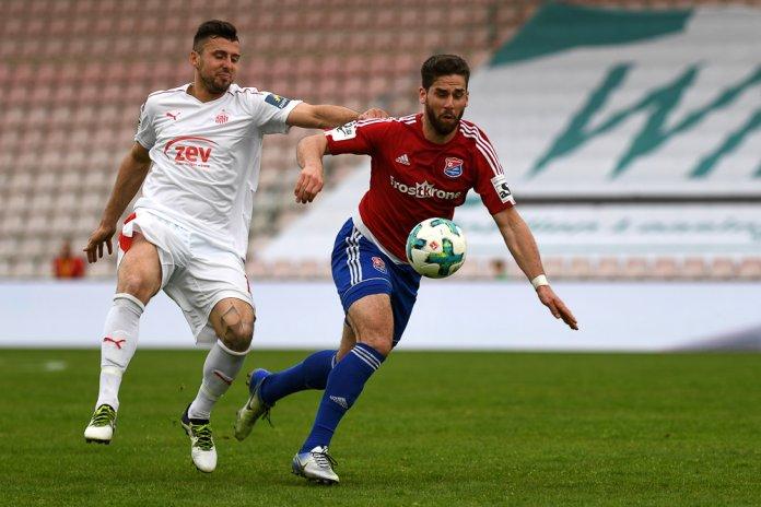 34. Spieltag 17/18: SpVgg Unterhaching - FSV Zwickau - Bild
