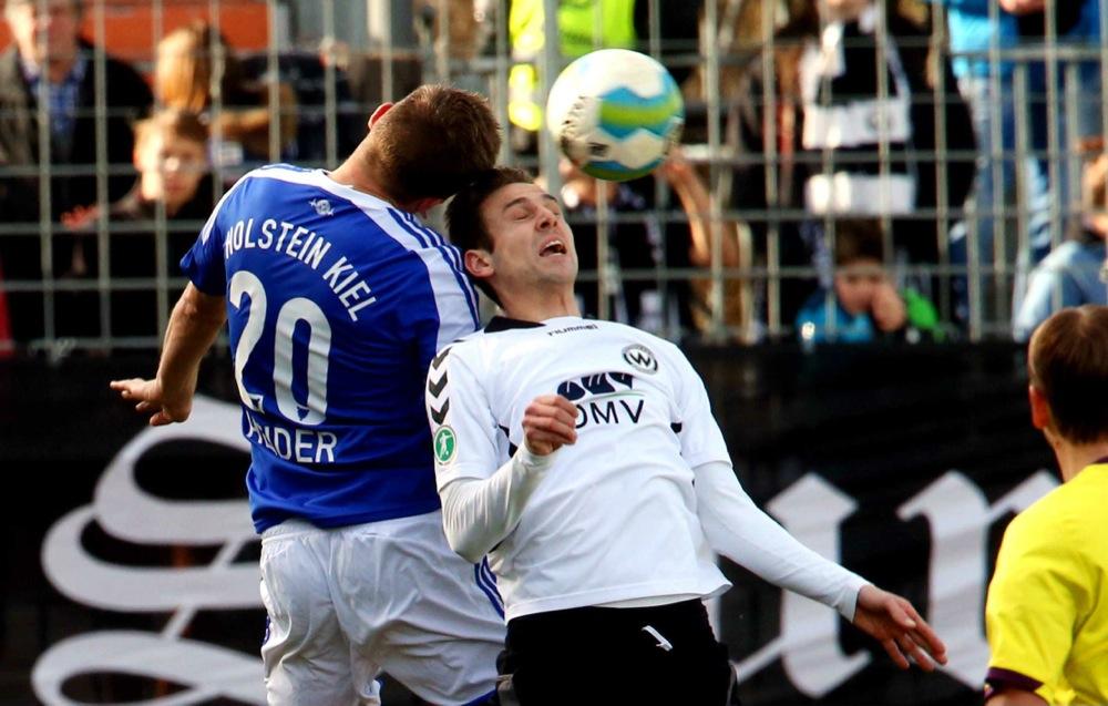 25. Spieltag: Wacker Burghausen - Holstein Kiel