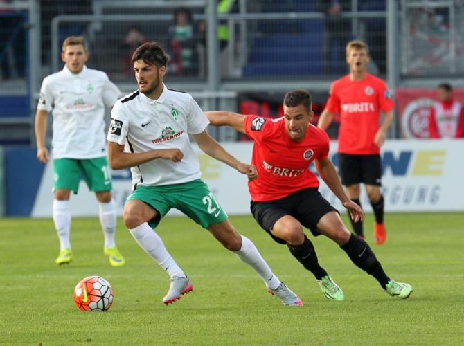 Bremen am letzten Spieltag (Foto Huebner)