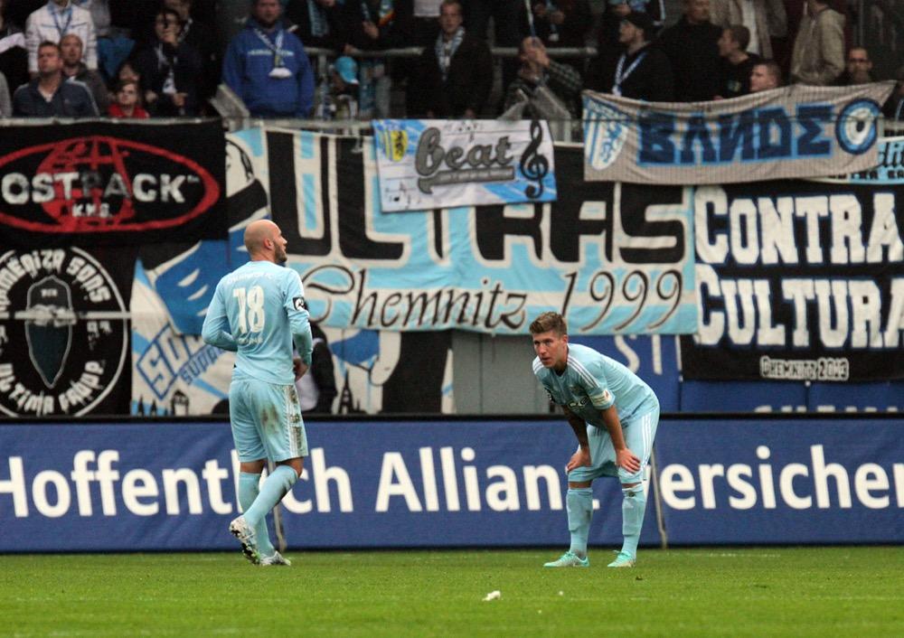 Der CFC beim letzten Auswärtsspiel gegen SVWW (Huebner/Severing)