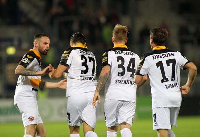 Dynamo Dresden ist Favorite (Foto Huebner)