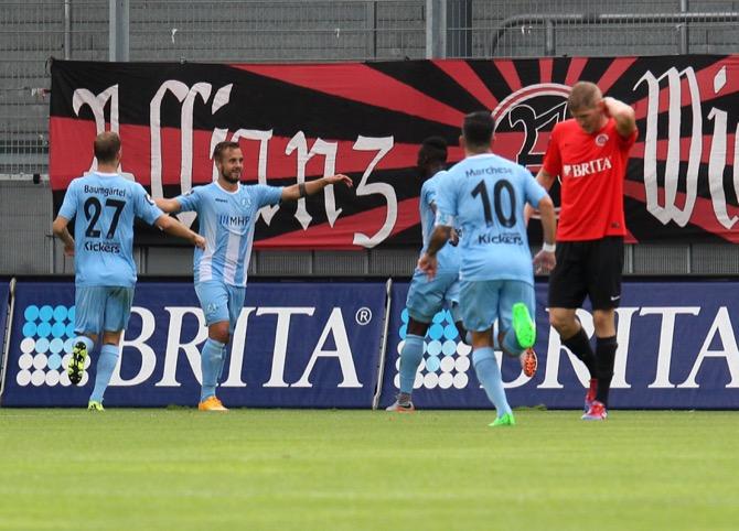 10. Spieltag; Stuttgarter Kickers - Dynamo Dresden