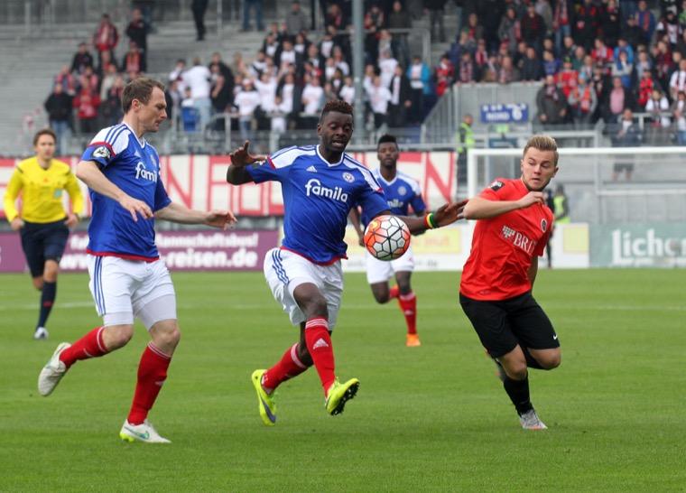 14. Spieltag; Holstein Kiel - Dynamo Dresden