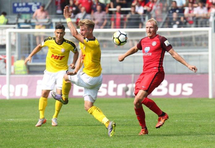 6. Spieltag 17/18: SV Wehen Wiesbaden - Fortuna Köln