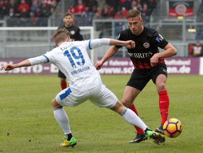 21. Spieltag 16/17: SV Wehen Wiesbaden - Sportfreunde Lotte