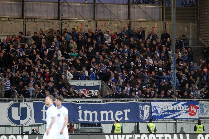 Magdeburg Fans (Foto Huebner)