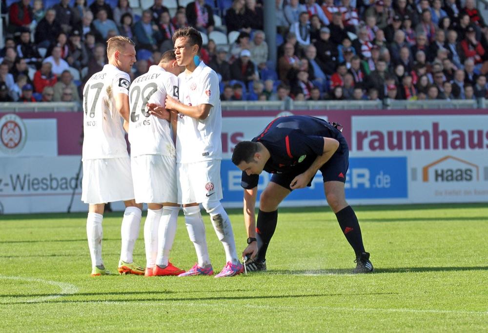Wehen Wiesbaden bleibt trotz Niederlage gegen Mainz II Tabellenführer - Spielbericht