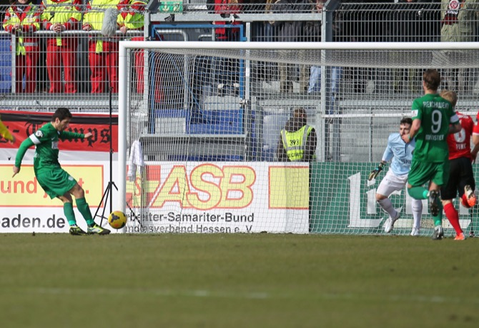 Kein Sieger zwischen Wehen und Münster - Spielbericht