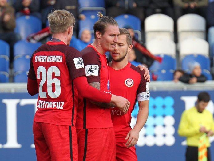 14. Spieltag 17/18: SV Wehen Wiesbaden - Preußen Münster
