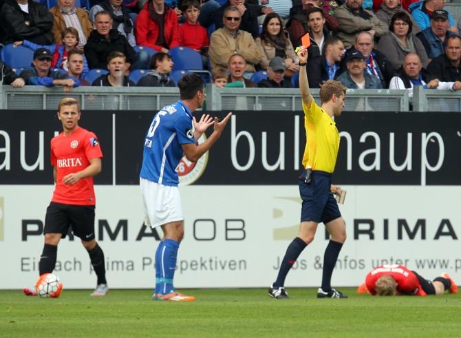 Verdientes 0:0 zwischen Wehen Wiesbaden und Hansa Rostock - Spielbeicht + Bilder