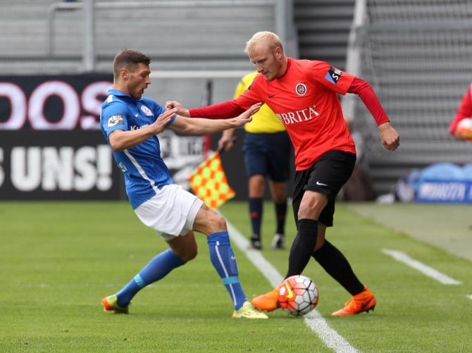 16. Spieltag; SV Wehen Wiesbaden – FC Hansa Rostock
