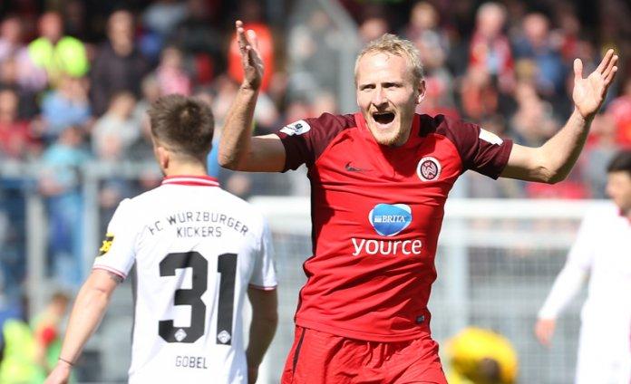 32. Spieltag 17/18: SV Wehen Wiesbaden - Würzburger Kickers
