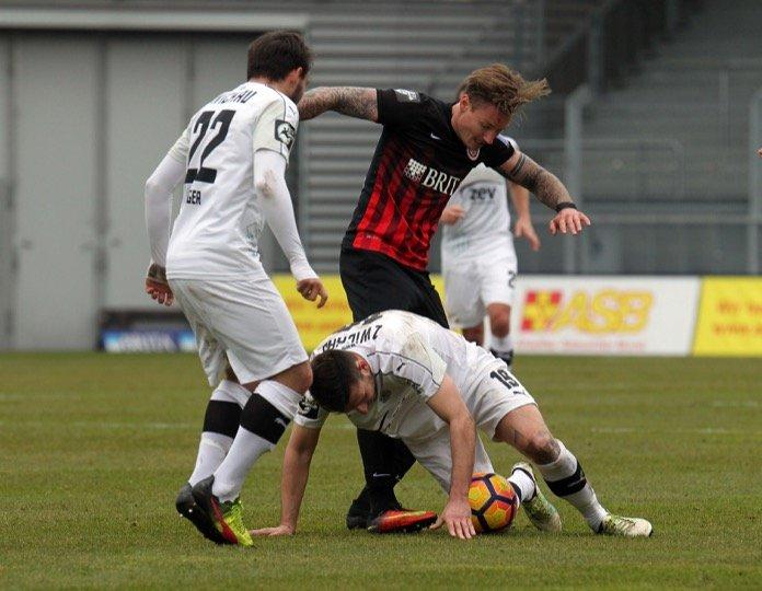23. Spieltag 16/17: SV Wehen Wiesbaden - FSV Zwickau