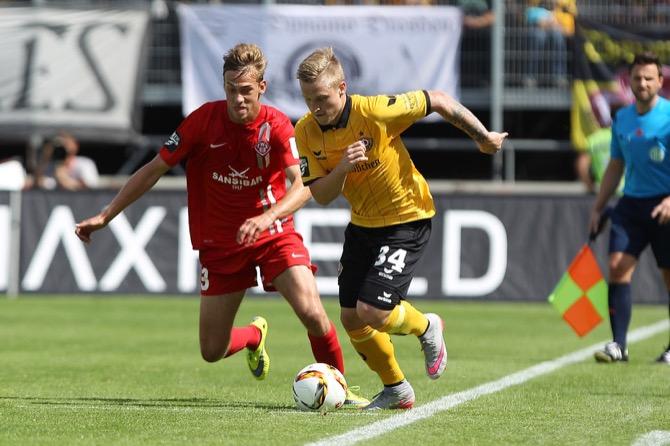3. Spieltag; Dynamo Dresden - FC Rot-Weiß Erfurt