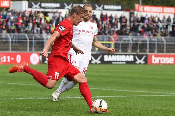 10. Spieltag; SV Werder Bremen II - FC Würzburger Kickers