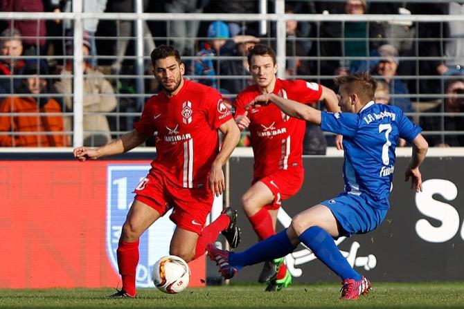 Würzburger Kickers am letzten Spieltag (Frank Scheuring)