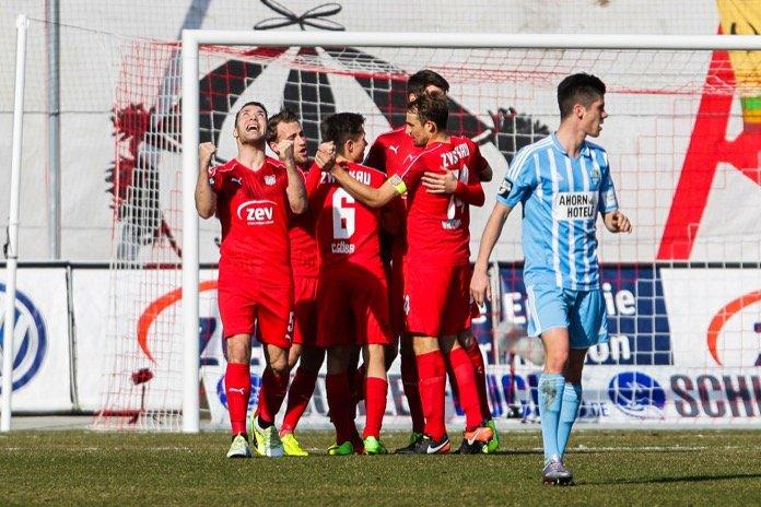 26. Spieltag 16/17: FSV Zwickau - Chemnitzer FC
