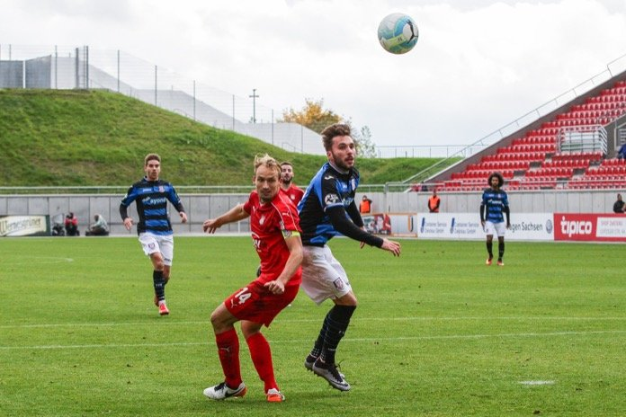 12. Spieltag 16/17: FSV Zwickau - FSV Frankfurt