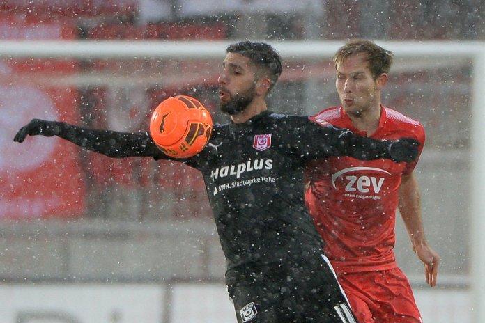19. Spieltag 17/18: FSV Zwickau - Hallescher FC