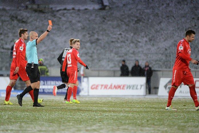 19. Spieltag 17/18: FSV Zwickau - Hallescher FC - Bild