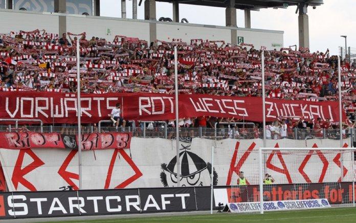 Spieltag; FSV Zwickau - 1. FC Magdeburg